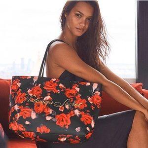 Victoria's Secret Floral Tote Bag
